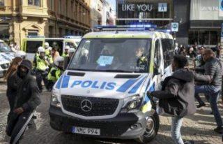 Göteborg gösterilerinde ortalığı karıştıran...