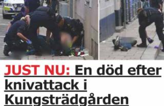 Stockholm'de bıçaklı kavga: Bir kişi öldü
