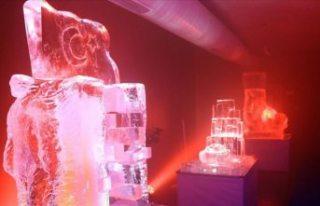Türkiye'nin ilk buz müzesi açıldı