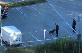 Tyresö'de bir kişi vuruldu