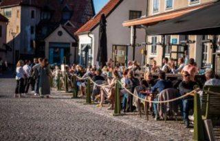 Visby son yılların en büyük kalabalıklarını...