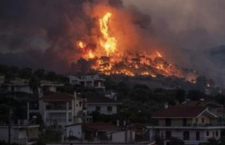 Yunanistan'ın ciğerleri iki gündür yanıyor