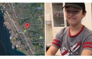 11 yaşındaki erkek çocuk bulundu