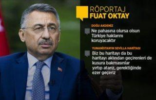 Cumhurbaşkanı Yardımcısı Oktay'dan AB'ye...