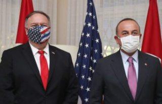 Dışişleri Bakanı Mevlüt Çavuşoğlu, ABD Dışişleri...