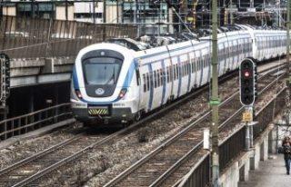 Güney İsveç'te tren trafiğini durdu