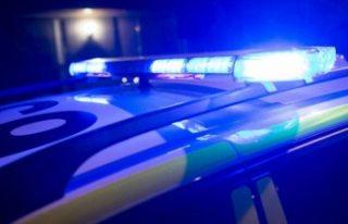 İsveç'te şüpheli sürücüyü kovalayan polise...