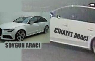 İsveç'i sarsan olaylarda kullanılan Audi marka...