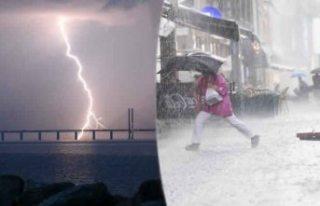 İsveç'te aşırı yağışlara karşı 1. Sınıf...