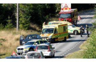 Korkutan kaza: Küçük çocuk camdan fırladı