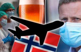 Norveç'te uçuşlar dahil geniş kısıtlamalar...