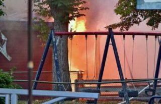 Polis, pizza restoran yangınına kundaklama dedi
