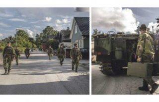 Rus ordusu İsveç sınırında, hareketlilik arttı