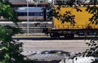 Sundsvall'da yük treninin altında kalan bir...