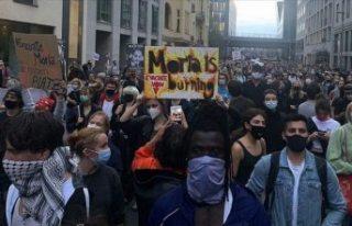 Almanya'da düzenlenen gösterilere katılan binlerce...