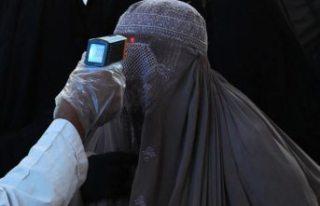 Avrupalılar, Covid-19 salgını döneminde burka...