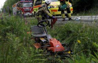 Bir kadın çim biçme makinasına kapılarak öldü