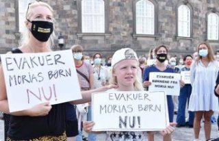 Danimarka'da sığınmacıların kabulü için...