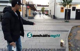 Danimarkalı ırkçılar Rinkeby'de gizlice Kur'an...