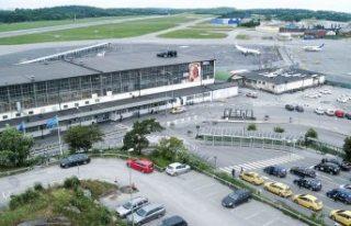 Korona krizi İsveç'te bir havalimanını daha...