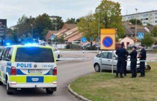 Landskrona'daki trafik kazasına, polis cinayet...