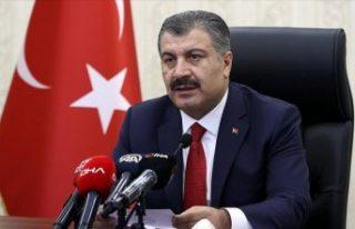 Türkiye genelinde yoğun bakım doluluk oranı yüzde...
