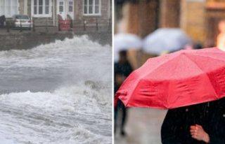 Avrupa'da can alan fırtına İsveç'te