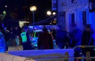 Gece kulübü önünde saldırı bir kişi ağır...