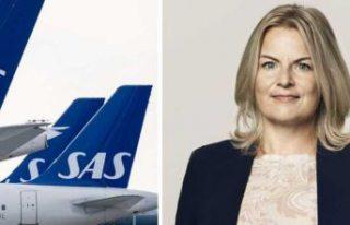 İskandinavya Havayolu Şirketi SAS: Kronofogden'de!
