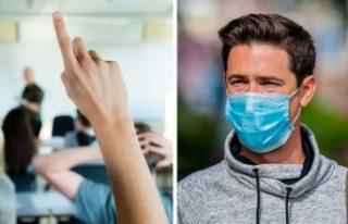 İsveç'te ilk kez bir okulda maske takmak zorunlu...