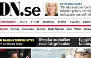 İsveç gazetesi Dagens Nyheter abone kaybını 2...