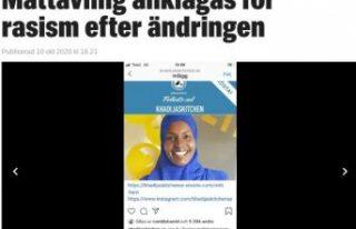 İsveç'te Somalili bir bayanın oylarını silen...