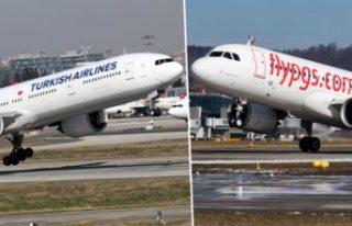 THY ve Pegasus vakaların arttığı ülkeye uçuşları...