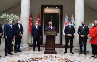 Türkiye genelinde koronavirüsün yeniden tırmanışa...