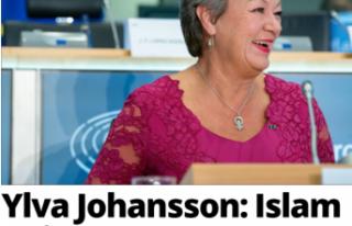 AB İçişleri Komiseri Johansson: İslam Avrupa için...