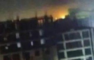 Azerbaycan'ın başkenti Bakü'de patlama...