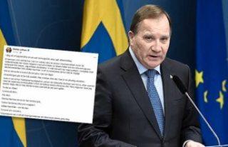 Başbakan Stefan Löfven ve eşi koronavirüs nedeniyle...