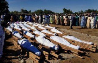 Dünyada katliamlar bitmiyor: Tarlada çalışan 110...
