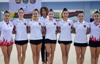 Kadın Ritmik Cimnastik Grup Milli Takımı, Avrupa...