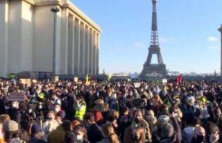 Macron hükümetinin polisleri koruyan yasa tasarısına...