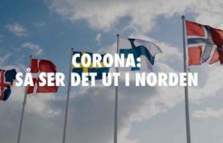 İsveç'teki vaka sayıları komşu ülkeyi 10'a...