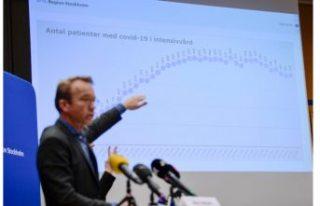 Stockholm Bölgesi 16 Kasım COVID-19 raporu: Durum...