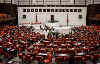 TBMM'de 4 siyasi parti Fransa Senatosunun Yukarı...