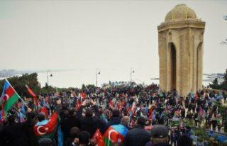 Azerbaycan'da, Ermenistan'ın yenilgiyi...