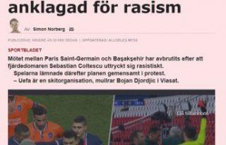 Başakşehirli Webo'ya ırkçı saldırıya İsveç'ten...