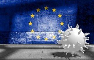 Covid-19 vakalarının artmaya devam ettiği Avrupa'da...