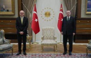 Cumhurbaşkanı Erdoğan, İsveç Büyükelçisini...