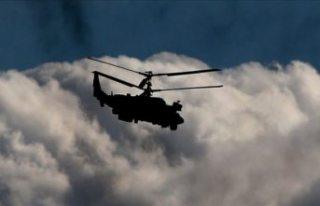 Helikopter kazasında beş ölü