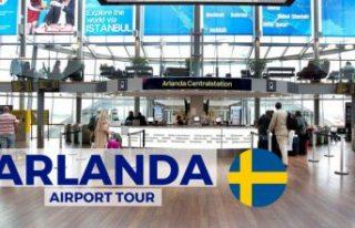 İsveç, havalimanlarında denetimleri sıkılaştırma...