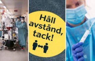 İsveç genelinde vaka sayısı 350 bine yaklaşırken,...